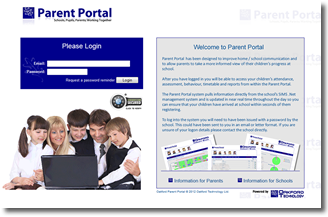 Parent Portal - Features of the System